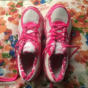 Asics Pink Breast Cancer Awareness Shoes